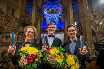 Preisträger 2017 beim Abschlusskonzert im Dom (c) Detlev Müller