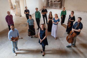 Elina Albach und das ensemble continuum. Foto Uwe Mühlhäußer