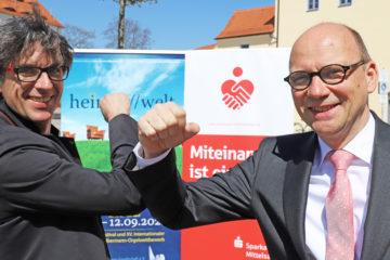 Albrecht Koch und Prof Hans-Ferdinand Schramm